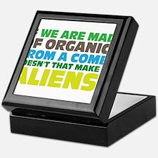 Are we all aliens? Keepsake Box