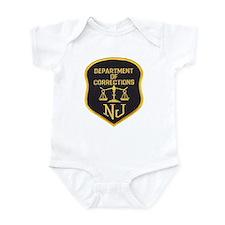 New Jersey Corrections Infant Bodysuit
