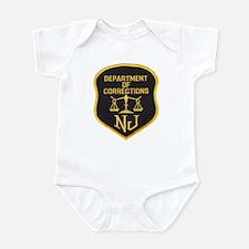 New Jersey Corrections Onesie