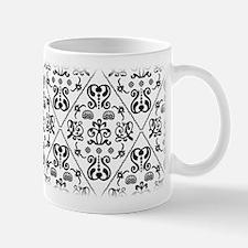 Black & White Damask #24 Mug