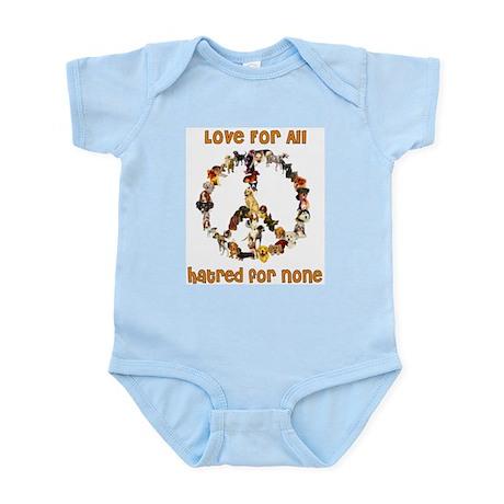 Dogs Of Peace Infant Bodysuit