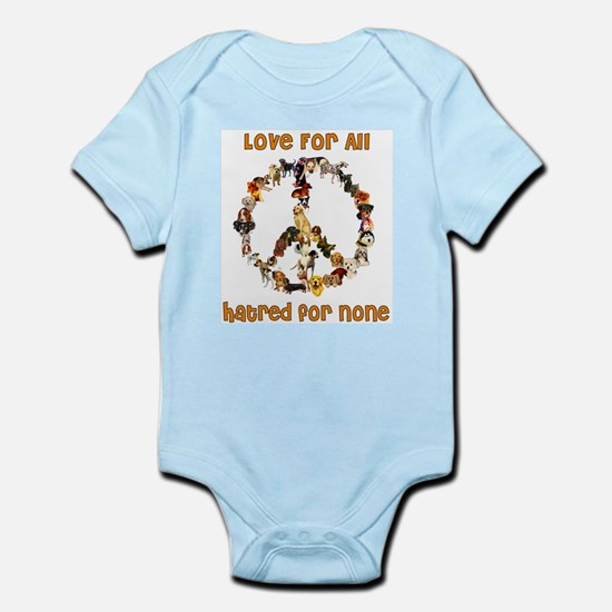 Dogs Of Peace Infant Bodysuit