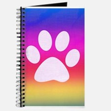 Sail Screen Rainbow Paw Rug Journal