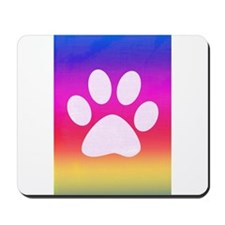 Sail Screen Rainbow Paw Rug Mousepad