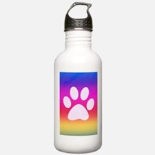 Sail Screen Rainbow Paw Rug Water Bottle