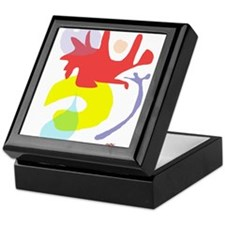 Abstract ala Matisse 1 Keepsake Box