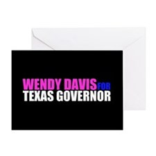 Wendy Davis for Governor Greeting Card