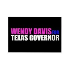 Wendy Davis for Governor Rectangle Magnet