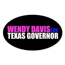 Wendy Davis for Governor Decal