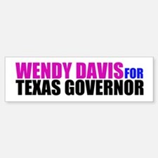 Wendy Davis for Governor Bumper Bumper Sticker