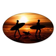 Sunset Surfers Decal