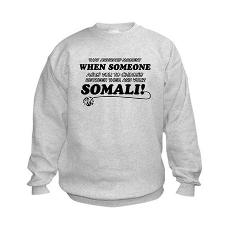 Unique Somali designs Kids Sweatshirt