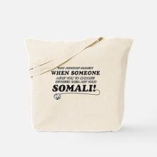 Unique Somali designs Tote Bag