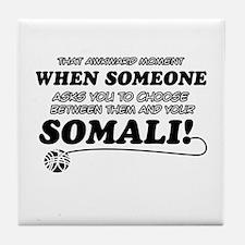 Unique Somali designs Tile Coaster