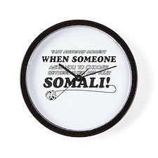 Unique Somali designs Wall Clock