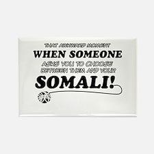 Unique Somali designs Rectangle Magnet