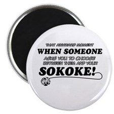 Unique Sokoke designs Magnet