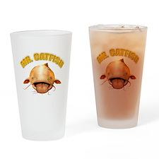 Mr. Catfish Drinking Glass
