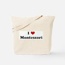 I Love Montessori Tote Bag