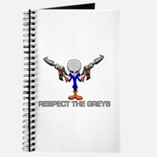 RESPECT THE GREYS Journal