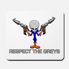 RESPECT THE GREYS Mousepad