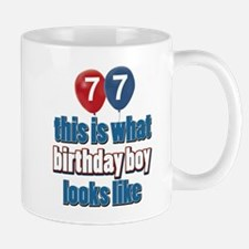 77 year old birthday boy Mug