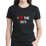 I * the 90's Women's Dark T-Shirt