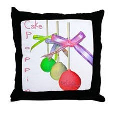 Cale Poppin Throw Pillow
