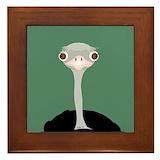 Ostrich Framed Tiles