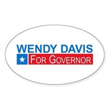 Wendy Davis Governor Democrat Decal