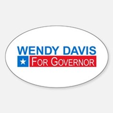 Wendy Davis Governor Democrat Decal