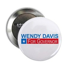 "Wendy Davis Governor Democrat 2.25"" Button"