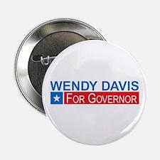"""Wendy Davis Governor Democrat 2.25"""" Button"""