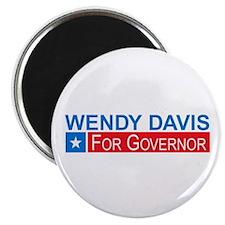 """Wendy Davis Governor Democrat 2.25"""" Magnet (10 pac"""