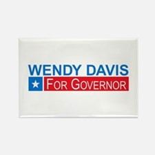 Wendy Davis Governor Democrat Rectangle Magnet