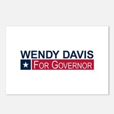 Wendy Davis Governor Texas Postcards (Package of 8