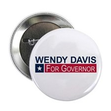 "Wendy Davis Governor Texas 2.25"" Button"