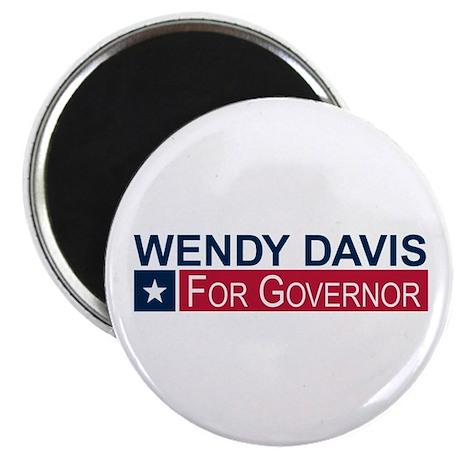 Wendy Davis Governor Texas Magnet