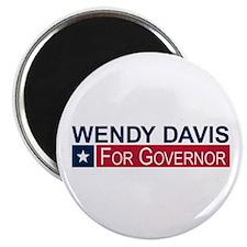 "Wendy Davis Governor Texas 2.25"" Magnet (10 pack)"