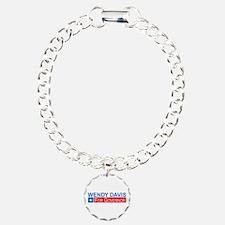 Wendy Davis Governor Democrat Bracelet