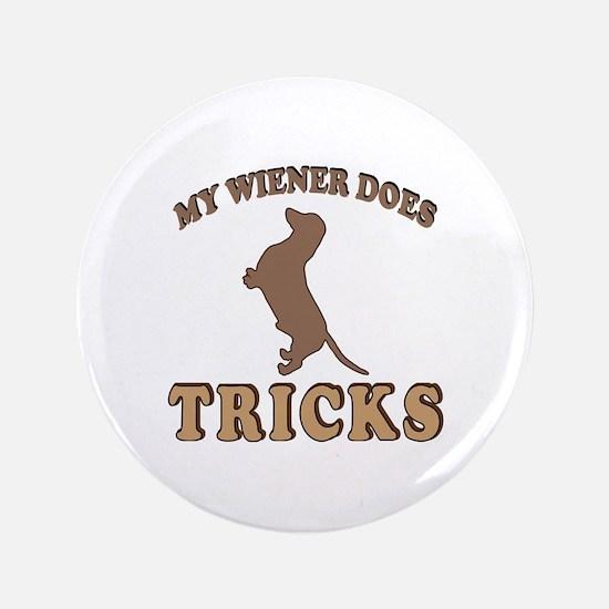 """Wiener Tricks 3.5"""" Button"""