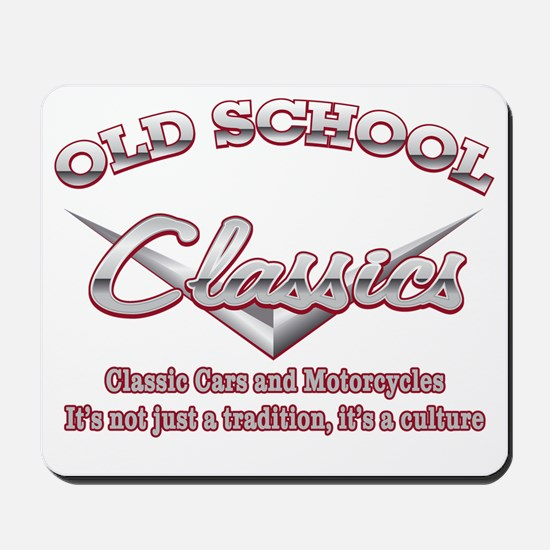 Old School Classics Mousepad