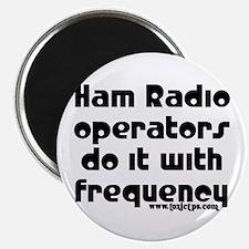 Ham Radio Operators Do It... Magnet