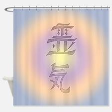 Reiki Pastel Glo Shower Curtain