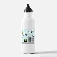 'City Skyline' Water Bottle
