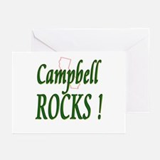 Campbell Rocks ! Greeting Cards (Pk of 10)