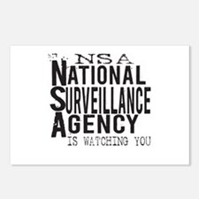NSA National Surveillance Agency Postcards (Packag