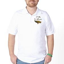 Mr Catfish font T-Shirt