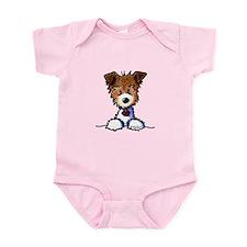 KiniArt Pocket JRT Infant Bodysuit