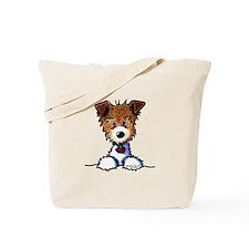 KiniArt Pocket JRT Tote Bag